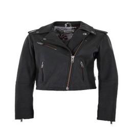 MALOJA CindyM. Snow Leather Jacket CHARCOAL