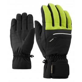 Ziener GLYN GTX(R)+Gore warm glove ski alpine lime green