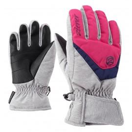 Ziener LORIK glove junior light melange.pop pink