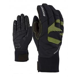 Ziener ILKO GWS glove multisport lime green