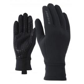 Ziener IDIWOOL TOUCH glove multisport black