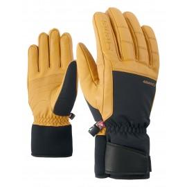 Ziener GAPION AS(R) PR glove ski alpine black/tan