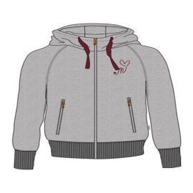 MALOJA WhitecityM. Hooded Sweat Jacket Grey