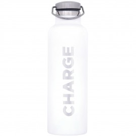 Charge Sportsdrinks White Bottle