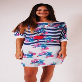 L.BOLT Floral Girly Tunic SURF THE WEB